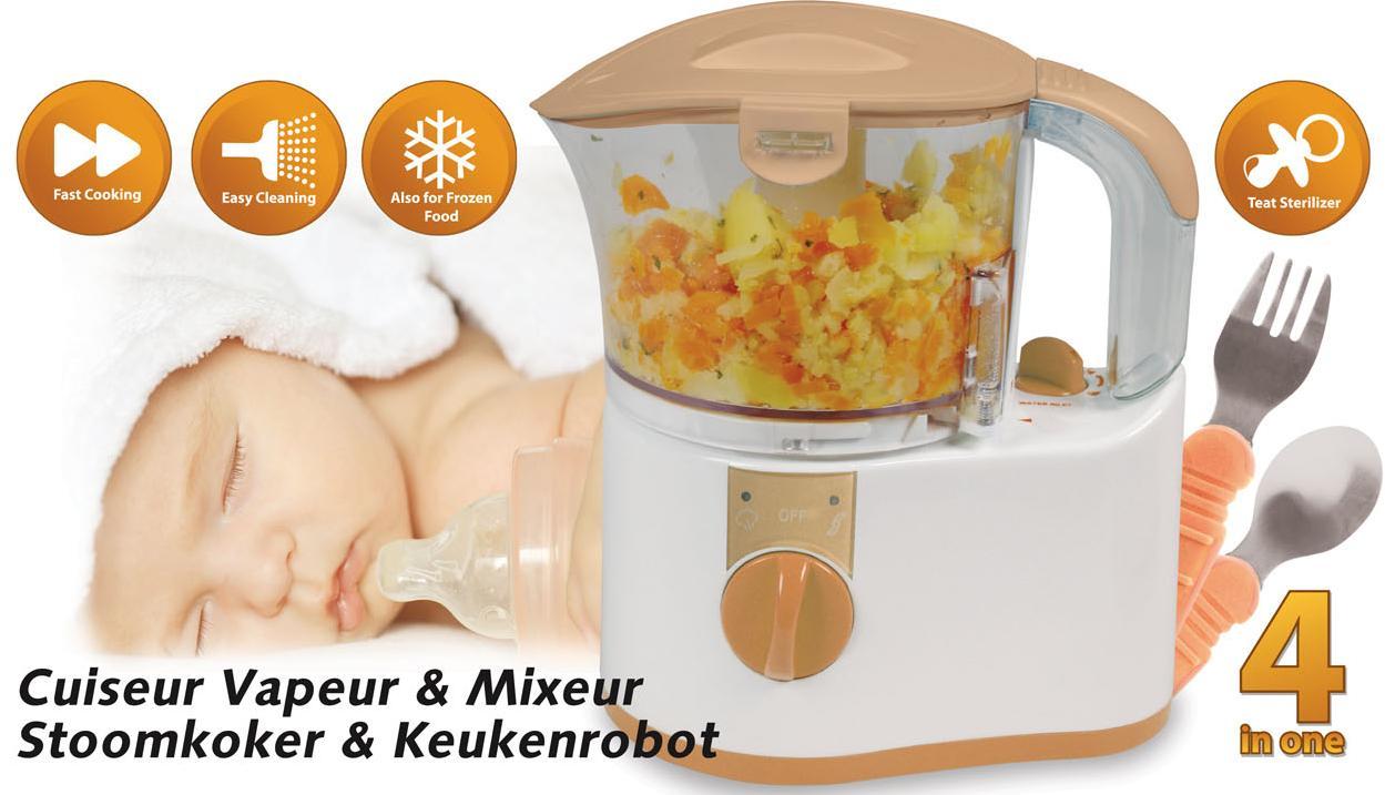 cuiseur vapeur robot pour preparations pour bebe kalorik tkg dg 1000 mb. Black Bedroom Furniture Sets. Home Design Ideas